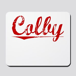 Colby, Vintage Red Mousepad